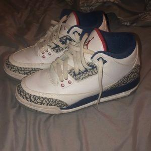 Air Jordan 3 retro white nike air
